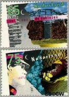 Nederland NL 1368#1369  1987 Diversen  cent  Gestempeld