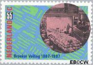 Nederland NL 1378  1987 Veilingsysteem 55 cent  Gestempeld