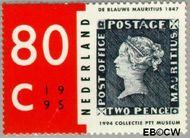 Nederland NL 1633  1995 Aankoop Blauwe Mauritius 80 cent  Gestempeld