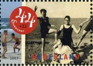 Nederland NL 2498a  2007 Strandpret toen en nu 44+22 cent  Gestempeld