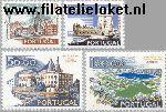POR 1156#1159 Postfris 1972 Steden en landschappen