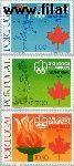 POR 1319#1321 Postfris 1976 Olympische Spelen - Montreal