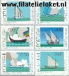 POR 1378#1383 Postfris 1977 Int. Postzegeltentoonstelling Portucale