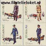 POR 1621#c1624c Postfris 1984 Militaire uniformen