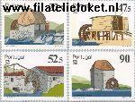 POR 1704#1707 Postfris 1986 Portugees-Braziliaanse postzegeltent. LUBRAPEX