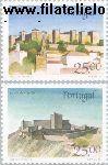 POR 1732#1733 Postfris 1987 Burchten en sloten