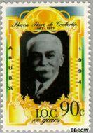 Aruba AR 139  1994 I.O.C. 90 cent  Gestempeld