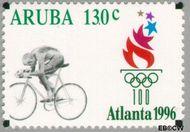 Aruba AR 179  1996 Olympische Spelen Atlanta 130 cent  Gestempeld