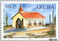 Aruba AR 250  2000 Gebouwen 165 cent  Gestempeld