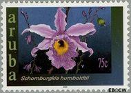 Aruba AR 300  2003 Orchideeën 75 cent  Gestempeld