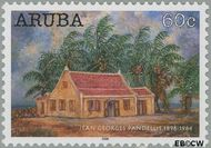 Aruba AR 355  2006 Kunst 60 cent  Gestempeld
