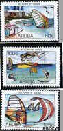 Aruba AR 363#365  2006 Hi-Winds  cent  Gestempeld