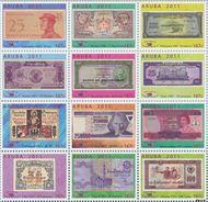 Aruba AR 529#540  2011 Papiergeldbeurs Maastricht  cent  Postfris