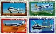 Berlin ber 617#620  1980 Luchtvaart  Postfris