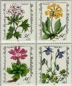 Berlin ber 703#706  1983 Alpenbloemen  Postfris