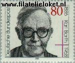 Bundesrepublik BRD 1282#  1986 Barth, Karl  Postfris
