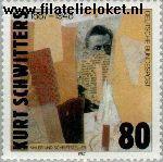 Bundesrepublik BRD 1326#  1987 Schwitters, Kurt  Postfris
