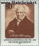 Bundesrepublik BRD 1357#  1988 Schopenhauer, Arthur  Postfris
