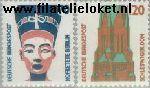 Bundesrepublik BRD 1374#1375  1988 Bezienswaardigheden  Postfris