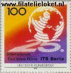 Bundesrepublik BRD 1495#  1991 Internationale Toerisme-beurs Berlijn  Postfris