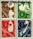 Bundesrepublik BRD 167#170  1953 Verkeerstentoonstelling  Postfris