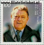 Bundesrepublik BRD 1818#  1995 Strauss, Franz Josef  Postfris