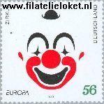 Bundesrepublik BRD 2252#  2002 C.E.P.T.- Circus  Postfris