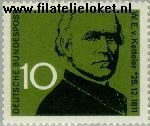 Bundesrepublik BRD 374#  1961 Ketteler, Wilhelm Emmanuel von  Postfris