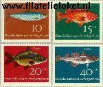 Bundesrepublik BRD 412#415  1964 Vissen  Postfris