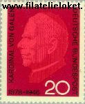 Bundesrepublik BRD 505#  1966 Galen, Clemens August Graf  Postfris