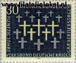 Bundesrepublik BRD 586#  1969 Oorlogsgravenverzorging  Postfris