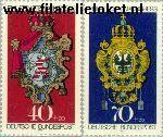 Bundesrepublik BRD 764+766  1973 Postzegeltentoonstelling IBRA München  Postfris