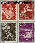 Bundesrepublik BRD 990#994  1978 Industrie en techniek  Postfris
