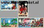 Gibraltar gib 207#210  1967 Elliot, George Augustus  Postfris