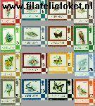 Gibraltar gib 348#363  1978 Bloemen en dieren  Postfris