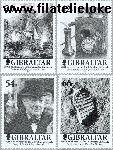 Gibraltar gib 972#975  2001 Gibraltar Chronical  Postfris
