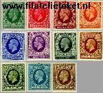 Groot-Brittannië grb 175#185  1934 Koning George V  Postfris