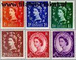 Groot-Brittannië grb 282#87z  1955 Koningin Elizabeth- Type Wilding  Postfris