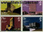 Groot-Brittannië grb 583#586  1971 Universiteiten  Postfris