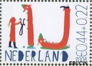 Nederland NED 2608e  2008 Laat kinderen leren 44+22 cent  Postfris