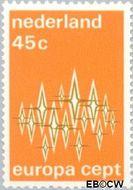 Nederland NL 1008  1972 C.E.P.T.- Communicatie 45 cent  Postfris