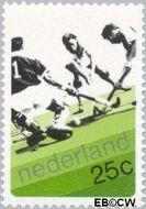 Nederland NL 1032  1973 Wereldbeker Hockey 25 cent  Gestempeld