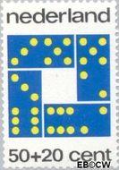 Nederland NL 1041  1973 Spelletjes 50+20 cent  Gestempeld