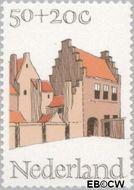 Nederland NL 1070  1975 Architectuur 50+20 cent  Gestempeld