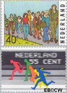 Nederland NL 1092#1093  1976 Sport  cent  Gestempeld