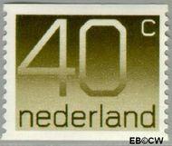 Nederland NL 1111a  1976 Cijfer type 'Crouwel' 40 cent  Postfris