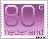 Nederland NL 1118a  1991 Cijfer type 'Crouwel' 80 cent  Gestempeld