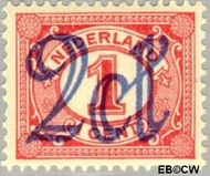 Nederland NL 114  1923 Opruimingsuitgifte 2#1 cent  Gestempeld
