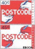 Nederland NL 1151#1152  1978 Invoering postcode  cent  Gestempeld