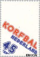 Nederland NL 1160  1978 Korfbal-organisatie 45 cent  Gestempeld